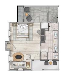 Garden Spa Suite
