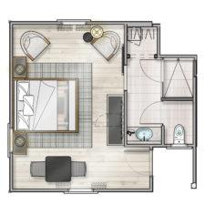 Guestroom Floor Plan