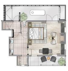 Jasmine Cottage Floor Plan